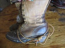 Mens Distressed CHIPPEWA BOOTS 29405 USA MADE LACE UP ARROYO PACKER 7.5 M Worn