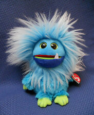 """TY BLUE FRIZZY ~ """"FANG"""" ~ NWT'S ~ FREE SHIPPING!"""
