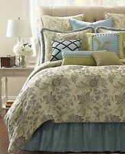 NWT Waterford Lindsay Fern KING Duvet Cover MSRP $375 - GORGEOUS!