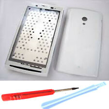 For S.E X10 X10i Xperia Fascia Housing Back Battery Cover White Tools