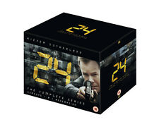 24 The Complete Series Seasons 1-8 And Redemption Box Set DVD NEW