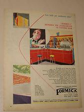 FORMICA LAMINATO PLASTICO MOBILI=ANNI '50=PUBBLICITA'=ADVERTISING=WERBUNG=343