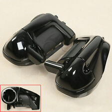 "Lower Vented Leg Fairings + 6.5"" Speaker Box Pods For Harley Road Street Glide"