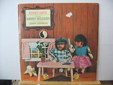 HARRY NILSSON Pussy Cats Produced by John Lennon UK RCA VICTOR RECORDS VINYL LP