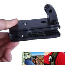 Black Travel Quick Clip Mount for GoPro HD Hero 2 3 3+ 4 Camera Accessories Hot