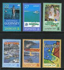 Guernsey 2003 Europa/Poster Art--Attractive Topical (801-06) MNH