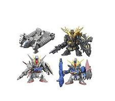 Bandai SD Gundam Next SP04 Gashapon (Set of 4) Z Banshee Strike Base Jabbar