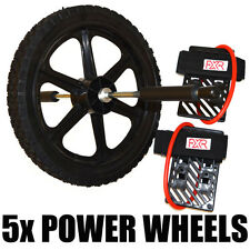 5x Set of FXR SPORTS POWER WHEEL AB CORE EXERCISE BACK LEGS TRAINING FITNESS
