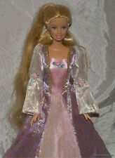 Gorgeous 2001 BARBIE As PRINCESS RAPUNZEL Doll w/Growing Hair & Glittery Gown