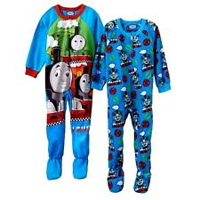 2 PIECE SET THOMAS THE TRAIN  Sz 2T FOOTED PAJAMAS BLANKET SLEEPER ~ NWT