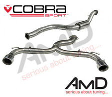 "Cobra Sport Focus ST225 Cat Back Exhaust 3.0"" VENOM VERY LOUD FD24 Stainless"