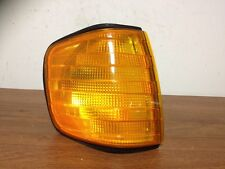 1988 MERCEDES 300 R/PASS AMBER CORNER LIGHT OEM *FLAWS/BROKEN TABS