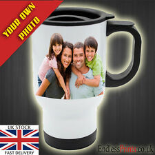 Personalised Thermal Travel Mug 14oz - Photo Display Gift
