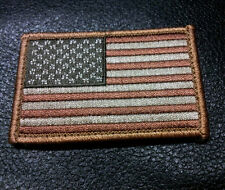 US FLAG Tactical combat USA DESERT TAN 3.0 INCH SEAL ACU VELCRO PATCH
