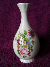 COALPORT BONE CHINA LUDLOW FLORAL WINTER & SPRING SPRAYS POSY OR BUD VASE
