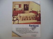advertising Pubblicità 1979 MOBILI FANTONI