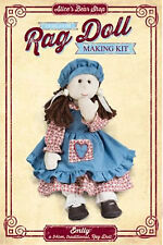 Heirloom Rag Doll Kit - Emily with Traditional Dress Outfit