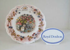 "BRAMBLY HEDGE PLATE ""AUTUMN"" FOUR SEASONS SERIES"