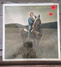 MEL TILLIS ~ me and pepper  ELEKTRA RECORDS 1979 ~ 1st PRESSING !!!  SEALED