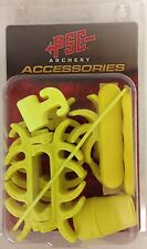 NEW PSE ARCHERY YELLOW COLORED DAMPNER KIT FOR PSE BOW