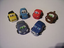 LIGHTNING MCQUEEN AND CARS set of 6 edible cake cupcake 3-D decorations