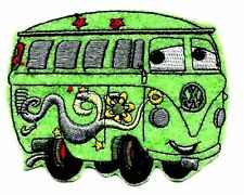 FILMORE VW Bus in Cars Pixar Disney Embroidered Iron On/ Sew On Patch