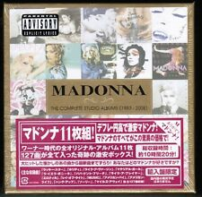 Sealed!! MADONNA The Complete Studio Albums 83-08 EU 11CD Box JAPAN STICKER-OBI