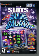 IGT Slots: Diamond Galaxy 3D Casino Computer Game Classic~BRAND NEW-SEALED!!