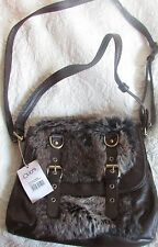 ouch london furry bag NWT