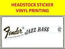 VINYL PRINTING HEADSTOCK JAZZ FOR BASS DECORATION VISIT MY STORE GUITAR BASS