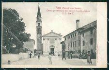 Treviso Castelfranco Veneto Riese Pio X cartolina QT8072