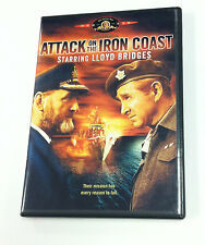 Attack on the Iron Coast DVD  Lloyd Bridges RARE & OOP!!
