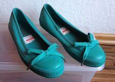 Esprit Schuhe, Ballerina mit Schleife grün / türkis Gr. 36 NEU