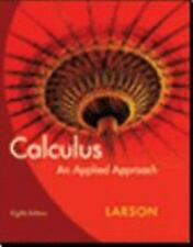 Calculus: An Applied Approach by Larson, Ron