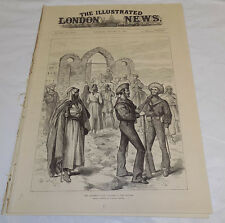 1/12/1884 Issue ILLUSTRATED LONDON NEWS/New Years Eve Celebration/Convict Prison