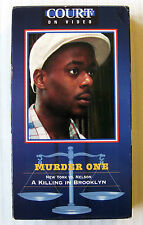 Murder One ~ A Killing In Brooklyn ~ New York vs. Nelson ~ Court TV VHS Movie