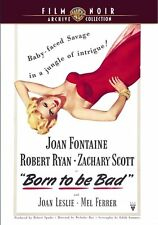 BORN TO BE BAD - (1950 Joan Fontaine) Region Free DVD - Sealed