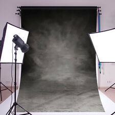 Vinyl Grey Black Photography Backdrop Photo studio Background Cloth 5x7FT