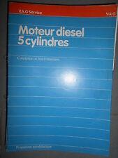 VW moteur diesel 5 cylindres : 1979 programme autodidactique 20