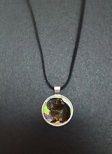 "Guinea Pig Pendant On a 18"" Black Cord Necklace Ideal Birthday Gift N409"