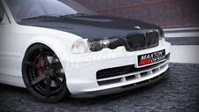 FRONT SPLITTER (TEXTURED) FOR BMW 3 E46 COUPE (1999-2002)