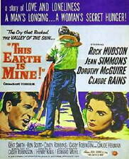 Rock Hudson THIS EARTH IS MINE Jean Simmons VHS
