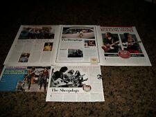 *THE SHEEPDOGS* Magazine Clippings! MUST SEE! L@@K