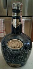 Chivas Brothers Limited  Royal Salute Scotch Whiskey Bottle Blue Wade England
