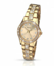 Ladies Sekonda Gold Tone StarFall Crystal Set Watch 2020 As Seen On TV