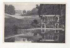 Palladian Bridge Prior Park Bath Vintage Postcard 715a