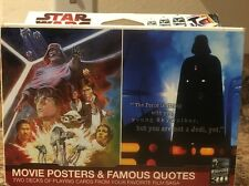 Star Wars Movie Posters And Famous Quotes Double Deck Playing Cards Poker