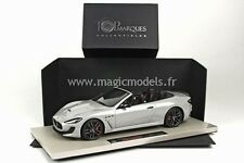 TOP MARQUES 2014 Maserati Gran Cabrio MC Grigio Pietra LE of 200 1/18 Scale New!