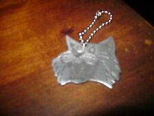 Vintage Richmond Wildcats hockey team keychain medallion