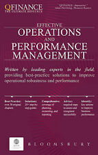 Effective Operations and Performance Management (Qfinance the Ultimate Resource)